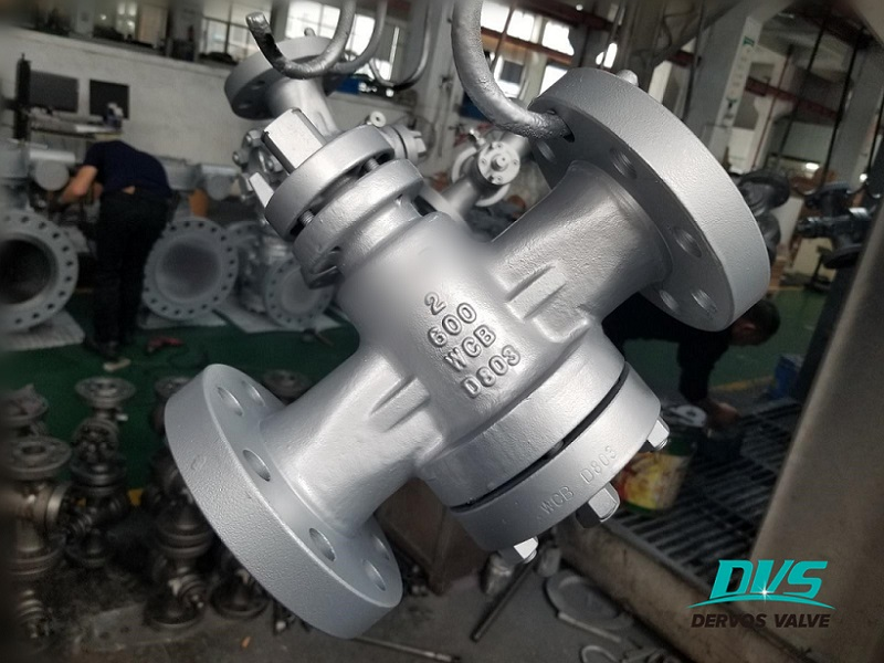 2 inch inverted pressure balance lubricated plug valve