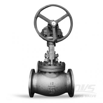 Straight Pattern Globe Valve Flanged