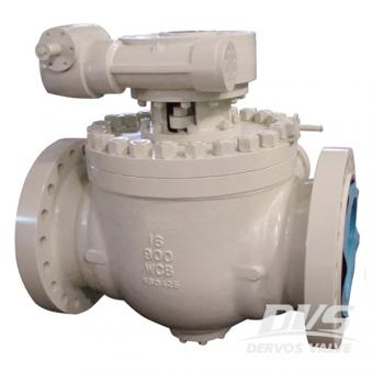Top Entry Ball Valve WCB Gearbox