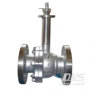 Cryogenic Floating Ball Valve 4Inch 300LB RF Lever