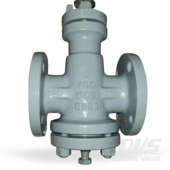 API6D inverted pressure balanced lubricated plug valve 150LB